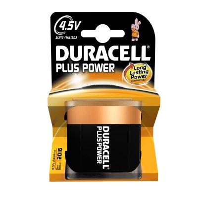 DURACELL 4,5V MN 1203 PLUS POWER PIATTA