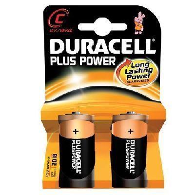 DURACELL M/TORCIA MN 1400 PLUS POWER nuova serie Plus Power blister 2pile