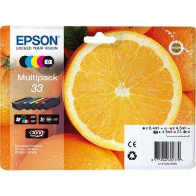EPSON CARTUCCIA INK MULTIPACK ARANCIA 33