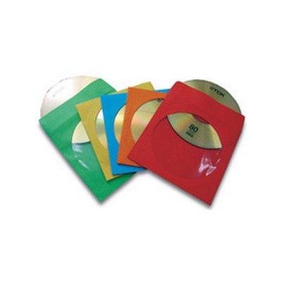 FELLOWES BUSTE PER CD/DVD IN CARTA 50PZ in carta ultraresistente, colorate, cod. 9068901