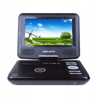 """NEW MAJESTIC LETT.DVD PORT.7\"""" DVX-166USB LCD 7\"""" girevole, USB, SD, telecomando,tripla alimentazione"""