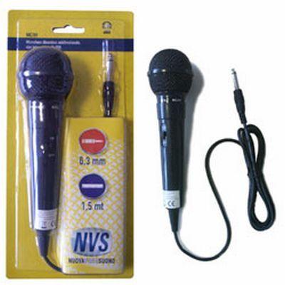 VIDEOS. MICROFONO MC-01 A FILO microfono palmare con cavo 1,5mt