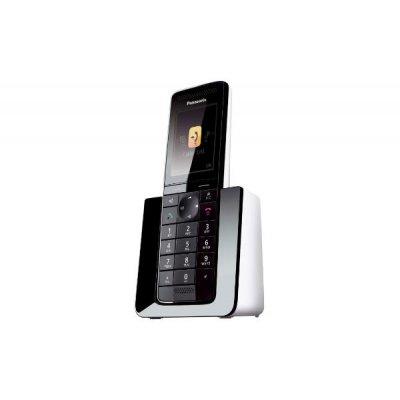 PANAS TEL.CORDLESS KX-PRS120JTW SEGRETER display a colori, suon.polifoniche, 300 mem. SMS, 40 min seg