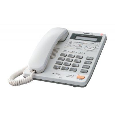 PANAS TELEF. FILO KX-TS620EXW BIANCO telefono da tavolo, vivavoce, segreteria, display LCD