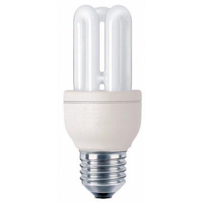 PHILIPS LAMP.ELET. GENIE 8W E27 2700K E27,Elettronica,3 tubi,luce calda  8000 ore