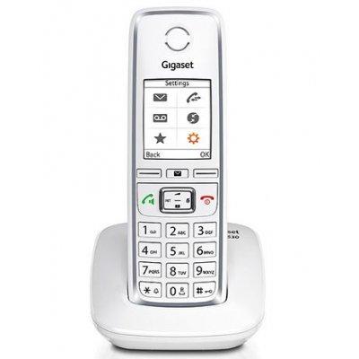 "GIGASET TELEF. CORDLESS C530 WHITE SCHERMO 1,8\"" COLORI - TFT ILLUMINATO"