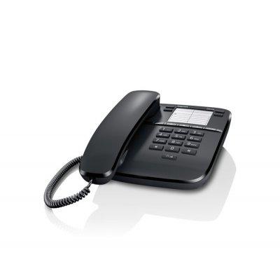 GIGASET TELEF. FILO DA310 BLACK telefono da tavolo a filo