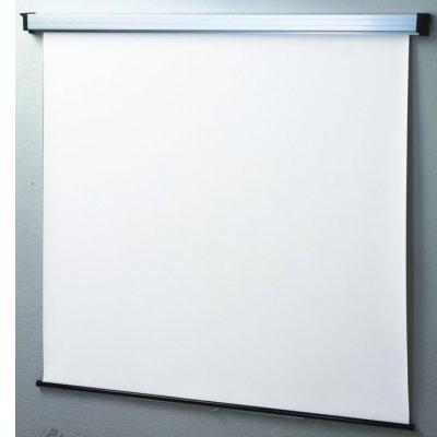 SOPAR SCHERMO 3240  240x200cm A MOLLA tela bianca tradizionale, cassonetto bianco