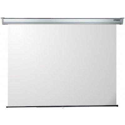 SOPAR SCHERMO 3240PL 240x200cm A MOLL serie Platinum, Scocca in Alluminio Bianco