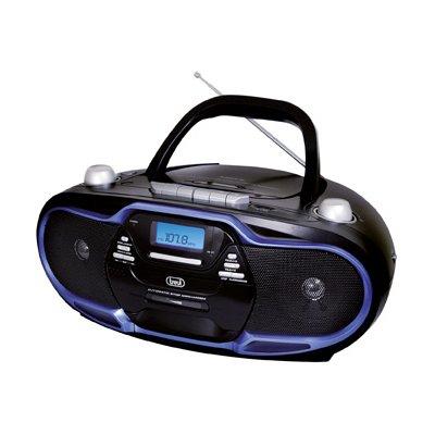 TREVI RADIOR.CMP574 USB, CASSETTA BLU CD/MP3/USB,SD CARD, CASSETTA , 20W