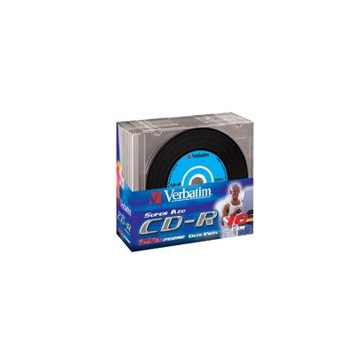 VERBATIM CD-R 80min SINGOLO JC 43347
