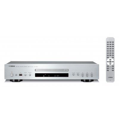 YAMAHA LETTORE CD  CD-S300SI  SILVER 43cm. porta USB, compatib. I-Pod
